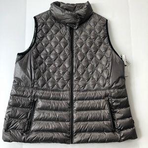 Calvin Klein performance vest, for Macy's.